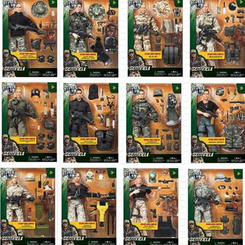 True Heroes ทรู ฮีโร่ เซนติเนล 1 หุ่นทหารขนาด 12 นิ้ว (คละแบบ)