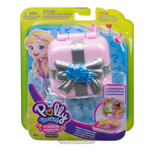 Polly Pocket พอลลี่พ็อกเก็ต ฮิดเด่น ไฮด์เอาท์ คละแบบ