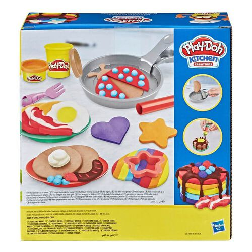 Play-Doh เพลย์โดว์ คิทเช่น ครีเอชั่น ฟลิพ แอนด์ แพนเค้ก