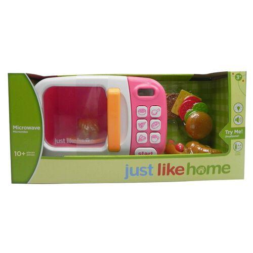 Just Like Home ไมโครเวฟอิเล็กทรอนิก สีชมพู