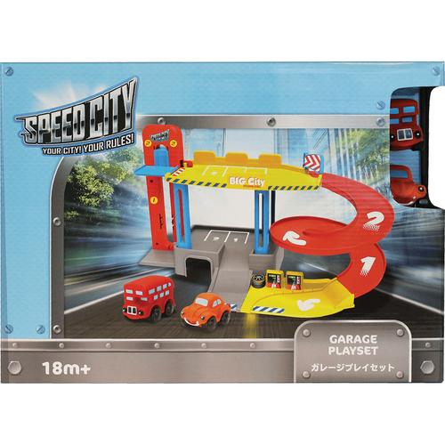 Speed City Junior สปีด ซิตี้ จูเนียร์ ชุดของเล่นจำลองอู่รถยนต์