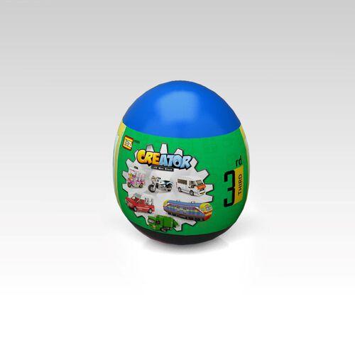 Loz ลอซ มินิบล็อคครีเอเตอร์ ตัวต่อรถไทย ซีรีส์ 3 แบบไข่สุ่ม (คละแบบ)