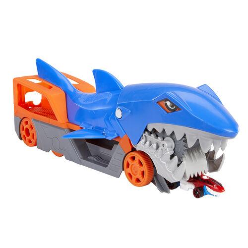Hot Wheels ฮอตวิว ชุดเซ็ต ฉลาม จอมเขมือบรถ