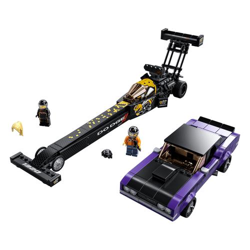 LEGO เลโก้ โมปา ด็อจ เอสอาร์ที ท๊อปฟูเอล แดรกสเตอร์ และ 1970 ด็อจ ชาเลนเจอร์ 76904