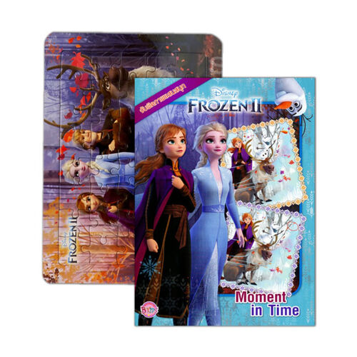 Disney Frozen ดิสนีย์ โฟรเซ่น 2 โมเมนต์ อิน ไทม์ + จิ๊กซอว์