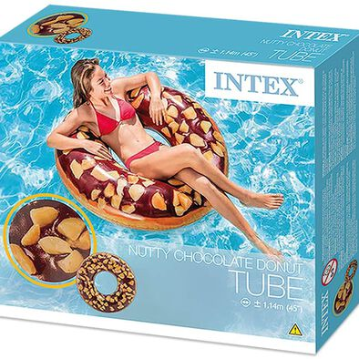 Intex ห่วงยาง นัตตี้ช็อคโกแลต โดนัท ขนาด 45 นิ้ว