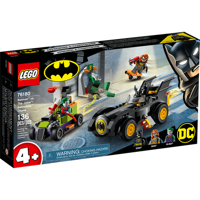 LEGO เลโก้ แบ็ทเมน vs. เดอะ โจ๊กเกอร์ แบท โมบาย เชส 76180