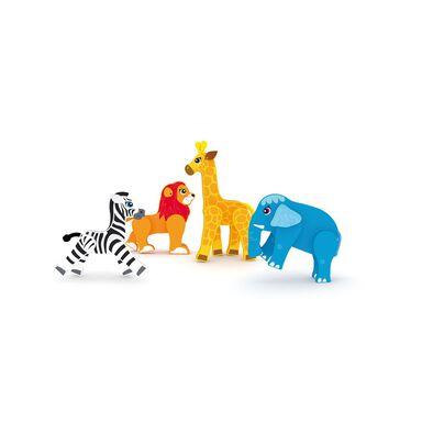 J'adore ฌาดอร์ ของเล่นไม้ ชุดฟิกเกอร์ธีมสัตว์ป่า