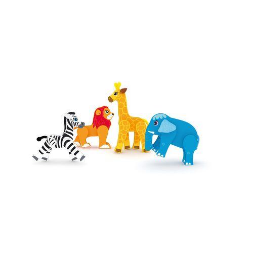 จาดอร์ เซ็ตสัตว์ป่าขยับได้ 4 ตัว