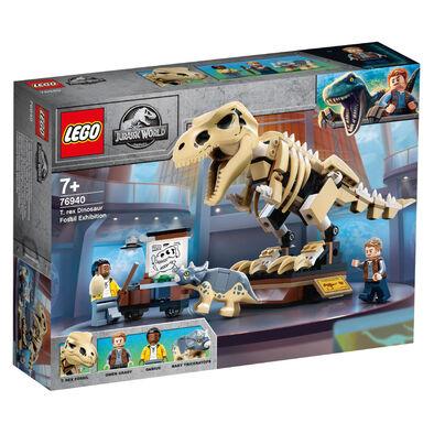 LEGO เลโก้ จูราสสิคเวิร์ด ทีเร็กซ์ ไดโนซอร์ ฟอสซิล เอ็กซิบิชั่น 76940