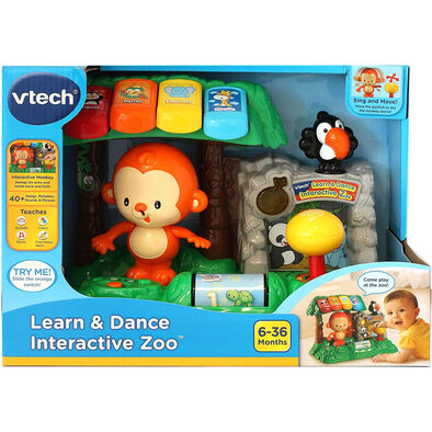 Vtech วีเทค ของเล่นรูปลิงน้อยสีสันสดใส