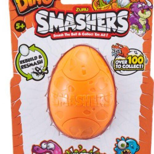 Smashers สแมชเชอร์ ไข่ไดโนเสาร์ แพ็กเดี่่ยว คละแบบ