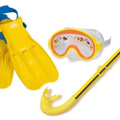 Intex ชุดหน้ากากดำน้ำ/ ท่อหายใจ/ ตีนกบ