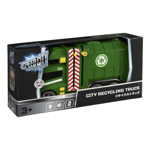 Speed City สปีด ซิตี้ ซิตี้ รีไซเคิล รถเก็บขยะ