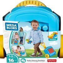 Mega Bloks เมกา บล็อค ชุดตัวต่อเมกาบล็อค พร้อมกระเป๋าเดินทาง