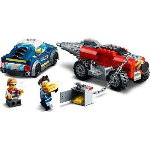 LEGO เลโก้ อีลีท โปลิศ ดริลเลอร์ เชส 60273