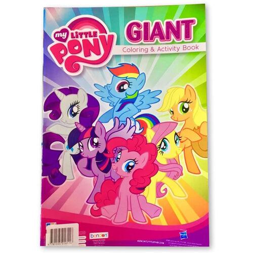 My Little Pony มายลิตเติลโพนี่ สมุดภาพระบายสีขนาดใหญ่