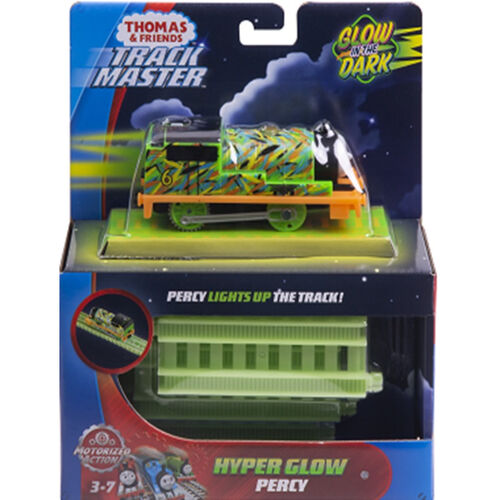 Thomas & Friends หัวรถไฟโทมัสแทรคมาสเตอร์ รุ่นเรืองแสง