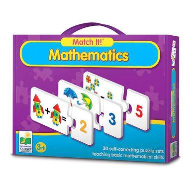 The Learning Journey เดอะ เลิร์นนิ่ง เจอร์นีย์ ชุดบัตรคำจับคู่ เสริมทักษะเกี่ยวกับคณิตศาสตร์