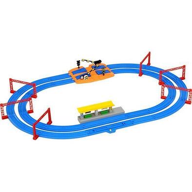 โทมี่ รางรถไฟตรง แบบคู่ R-04