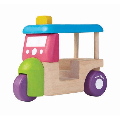 Plantoys แปลนทอยส์ รถตุ๊กตุ๊กมินิ
