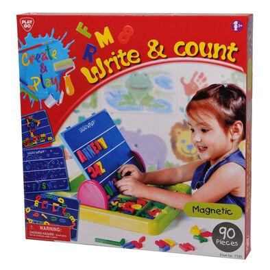 Playgo เพลย์โก ของเล่นชุดเสริมทักษะเกี่ยวกับตัวอักษร และการนับเลข