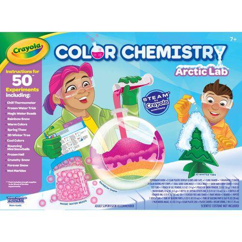 Crayola เครโยล่า ชุดสีทดลองเคมีขั้วโลกเหนือ
