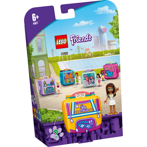 LEGO เลโก้ เฟรนด์ แอนเดรีย์ สวิมมิ่ง คิวบ์ 41671
