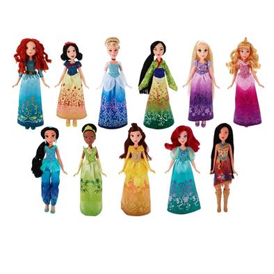 Disney Princess ดิสนีย์ พรินเซส ตุ๊กตาแฟชั่นชิมเมอร์ (คละลาย)