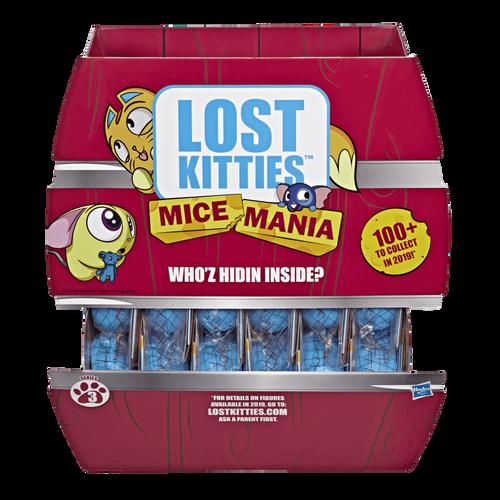 Lost Kitties ลอส คิตตี้ ไมซ์ มาเนีย ไมซ์ มินิ ทอย ซีรีส์ 3