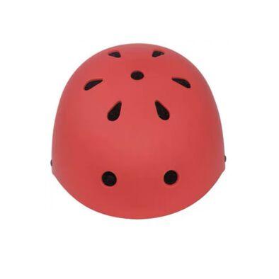 หมวกกันน๊อคเด็ก ขนาด M สีแดง (54-58cm)