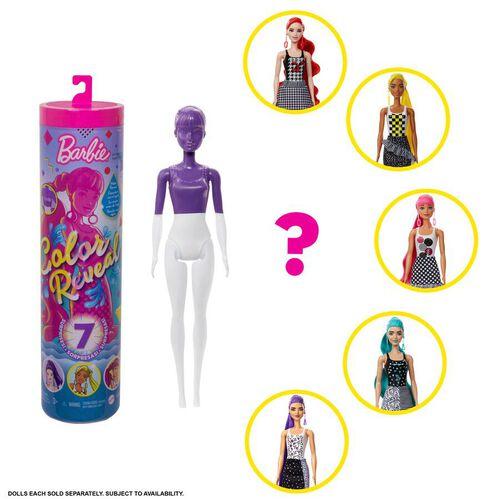 Barbie บาร์บี้ คัลเลอร์ รีวีล ดอลล์ โมโนโครม ซีรีส์ - คละแบบ