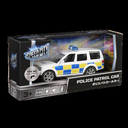 Speed City สปีด ซิตี้ โพลิส พาโทรล คาร์ รถตำรวจลาดตระเวน