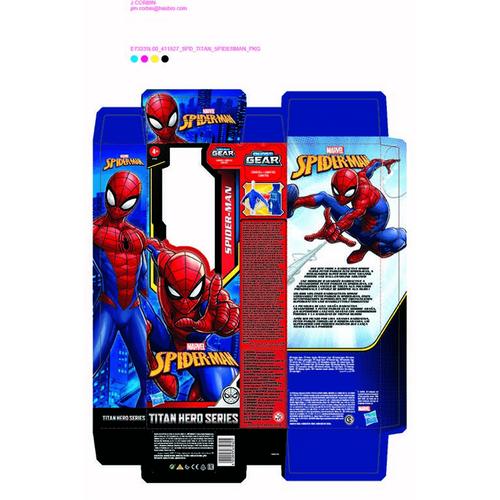 Spider-Man สไปเดอร์แมน ไตตั้น ฮีโร่ 12 นิ้ว ฟิกเกอร์