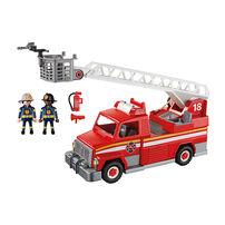 Playmobil เพลย์โมบิล ชุดรถดับเพลิงพร้อมบันไดกู้ภัย