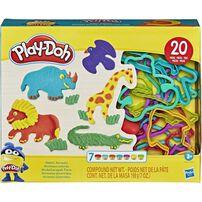 Play-Doh เพลย์โดว์ เซ็ทแป้งโดเสริมทักษะตามจินตนาการ คละแบบ