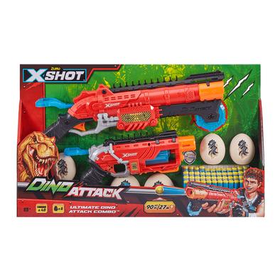 X-Shot เอ็กซ์ช๊อต ปืนคู่ ไดโน แอทแทค อัลทิเมท คอมโบ