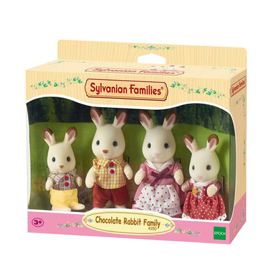 Sylvanian Family ซิลวาเนียน แฟมิลี่ ครอบครัวชอคโกแลตแรบบิท