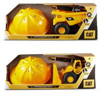 Caterpillar แคตตาพิลล่า ชุดรถขนทรายของเล่น ขนาด 10 นิ้ว (คละแบบ)