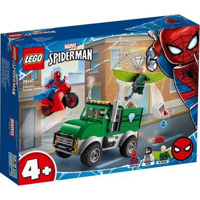 LEGO เลโก้ มาร์เวล สไปเดอร์แมน วัลเจอร์ ทรัคเกอร์ ร็อบเบอรี่ 76147