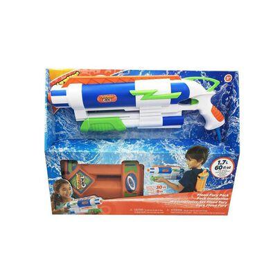 Sizzlin' Cool ปืนฉีดน้ำแบบเป้สะพายหลัง รุ่น ฟลัด เฟอรรี่ แพค