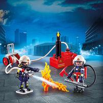 เพลย์โมบิล ซิตี้แอคชั่น รถดับเพลิงมีเสียงหวอพร้อมไฟ
