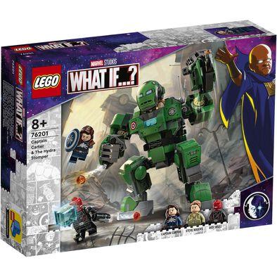 LEGO เลโก้ มาร์เวล กัปตัน คาร์เตอร์ แอนด์ เดอะ ไฮดรา สตอมเปอร์ 76201