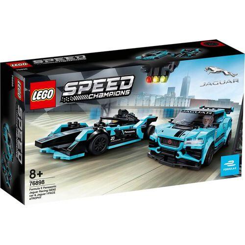 LEGO เลโก้ สปีดแชมเปี้ยน ฟอร์มูล่า อี พานาโซนิค จากัวร์ เรซซิ่ง เจน2 ซี 76898