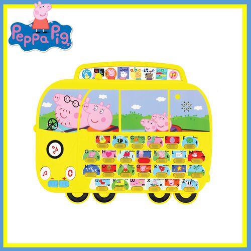 Peppa Pig เป๊ปป้า พิก ของเล่นฝึกทักษะการอ่านและออกเสียง รูปรถ