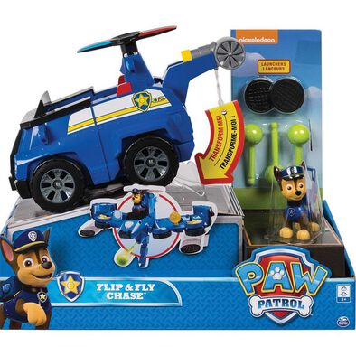 Paw Patrolพอว์ พาโทรล ชุดของเล่นยานพาหนะแปลงร่าง ฟลิบ แอนด์ ฟลาย