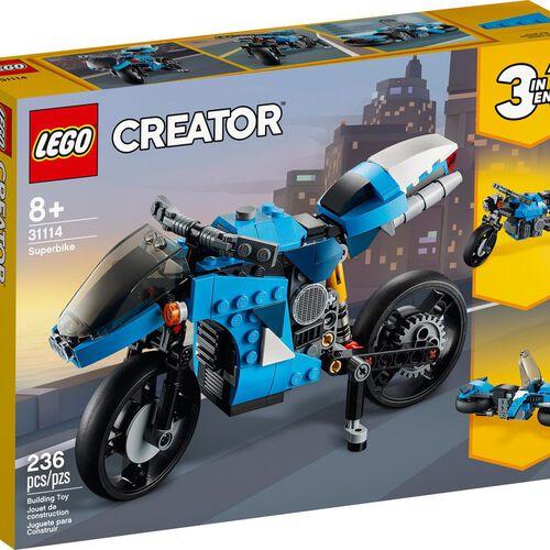 LEGO เลโก้ ซุปเปอร์ ไบค์ 31114