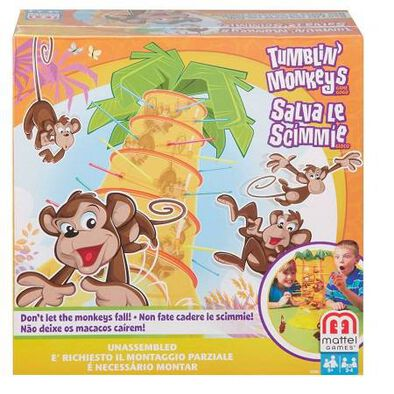Mattel Games แมทเทล เกมส์ Tumblin' Monkeys