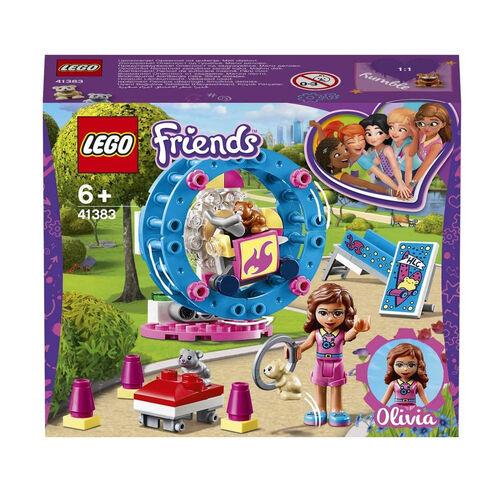 LEGO เลโก้ โอลิเวีย์ แฮมสเตอร์ เพลย์กราวน์ 41383