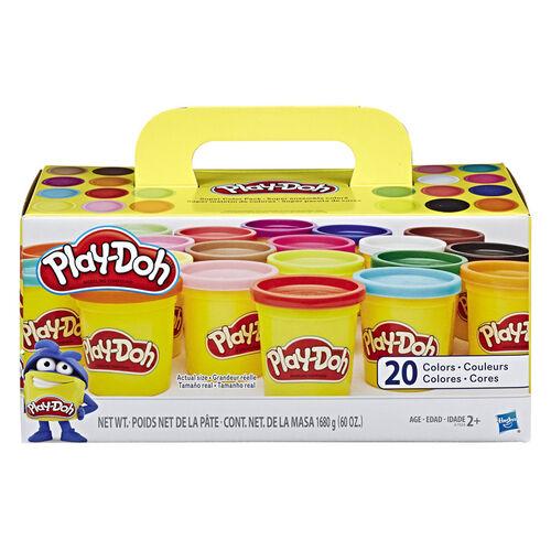 Play-Doh เพลย์โดว์ ชุดแป้งโดซุปเปอร์คัลเลอร์แพ็ก คละสี